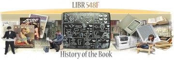 Course Profile: LIBR 548F – History of the Book