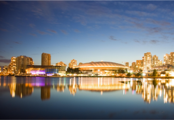 Vancouver Skyline at Twilight