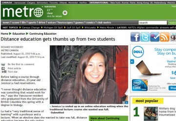 UBC Distance Learning in the News
