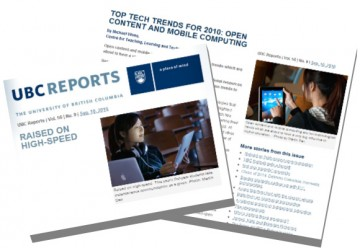 Top Tech Trends for 2010: Open Content and Mobile Computing