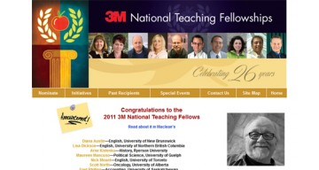 2011 3M National Teaching Fellows – Legacy Project