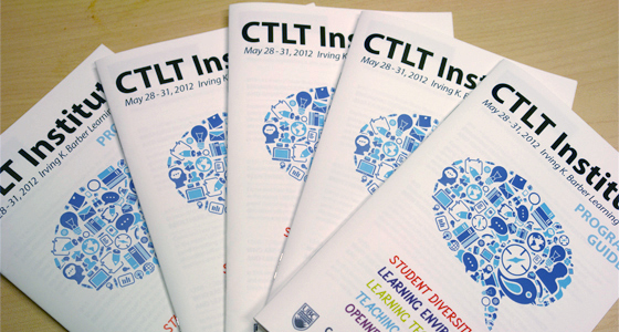 CTLT Institute 2012 Programs