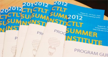 Thanks for Attending the 2012 CTLT Summer Institute
