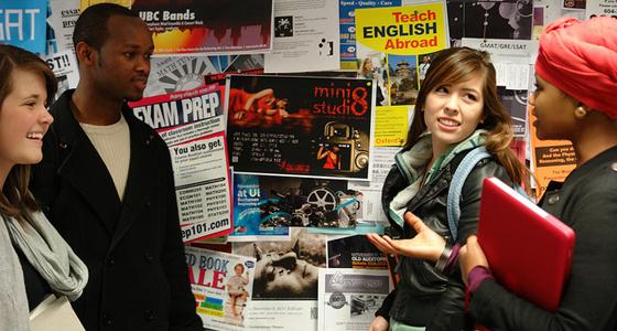 Students at SUB