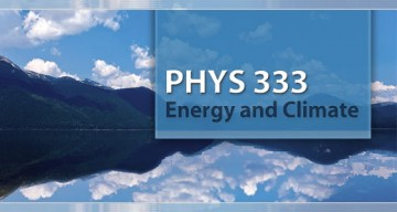 New Course Profile: PHYS 333 – Energy and Climate