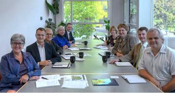 Delegates from the University of Calgary visit CTLT
