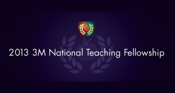 Two UBC Professors Named 2013 3M National Teaching Fellows