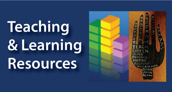 Teaching and Learning Resources image