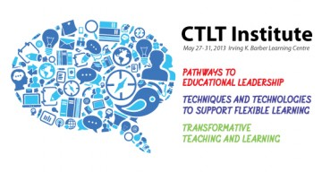 Registration Now Open for the 2013 CTLT Institute