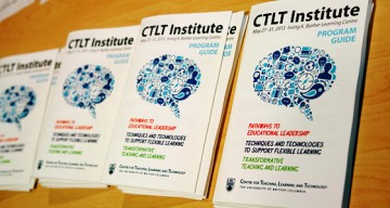 Thanks for Attending the 2013 CTLT Institute