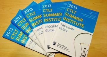 Thanks for Attending the 2013 CTLT Summer Institute