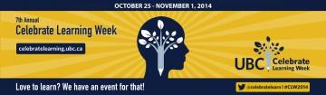 Celebrate Learning Week 2014
