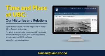 Time and Place at UBC: Our Histories and Relations