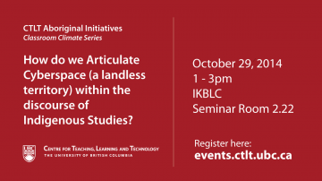 Aboriginal Initiatives – Classroom Climate Series