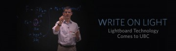 Lightboard Learning Technology – Free for UBC Faculty and Staff