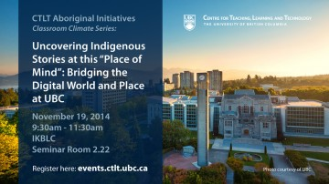 Aboriginal Initiatives – Classroom Climate Series