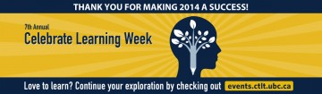 Thank you for attending Celebrate Learning Week 2014!