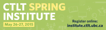 Registration is Now Open for the CTLT Spring Institute!