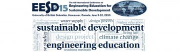 7th International Conference on Engineering Education for Sustainable Development (EESD15)