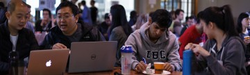 Students Crack Data at Learning Analytics Hackathon