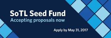 Application for SoTL Seed Fund is now open
