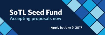 Application for SoTL Seed Fund has been extended