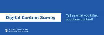 Digital Content Survey
