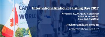 Join us for Internationalization Learning Day 2017!