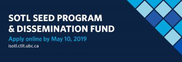 2019 SoTL Seed & Dissemination Fund